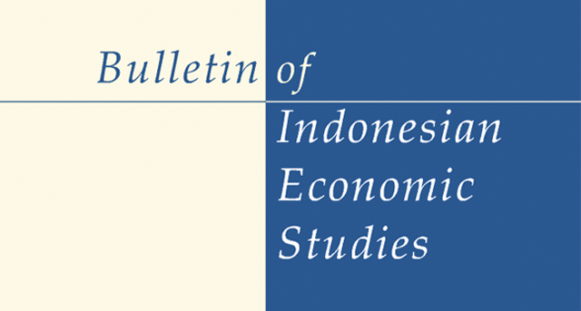 logo of Bulletin of Indonesian Economic Studies