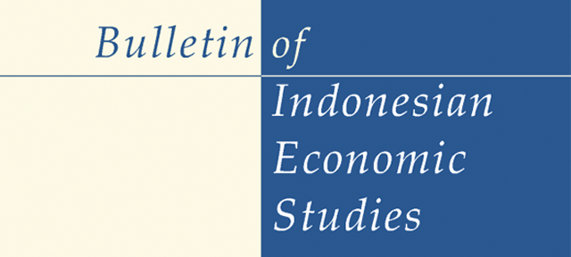 logo of Bulletin of Indonesian Economic Studies
